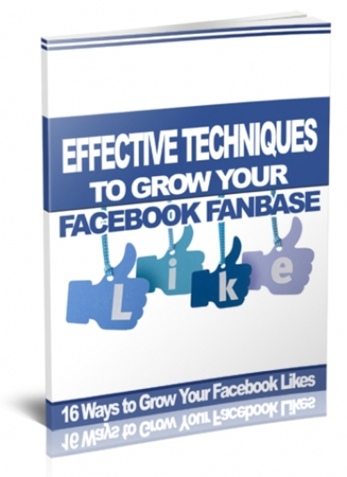 Product picture Effective Ways to Grow Facebook Fanbase