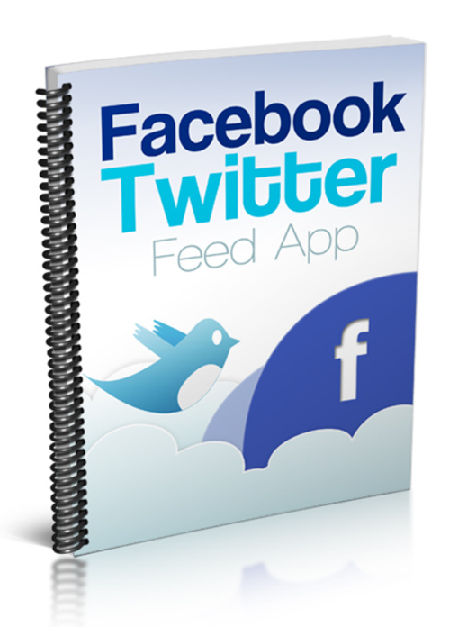 Product picture Facebook Twitter Feed App - MRR
