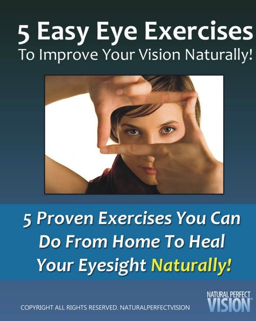 Product picture Improve Your Eyesight Naturally With 5 Proven Exercises!